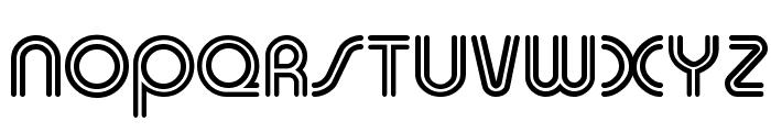 Duo-Line Regular Font UPPERCASE