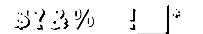 DuodezInitialen Font OTHER CHARS