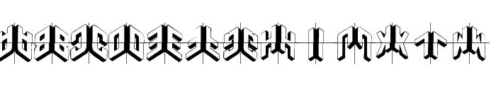 DuploSketchesPlus Font LOWERCASE