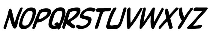DupuyBALloon-Italic Italic Font UPPERCASE
