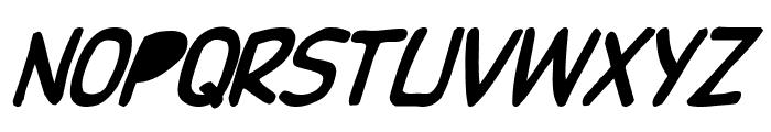 DupuyBALloon Italic Font UPPERCASE