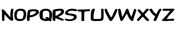 DupuyHeavy Ex Font LOWERCASE