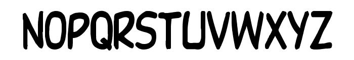 DupuyHeavy Th Font LOWERCASE