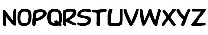 DupuyHeavy Wd Font LOWERCASE