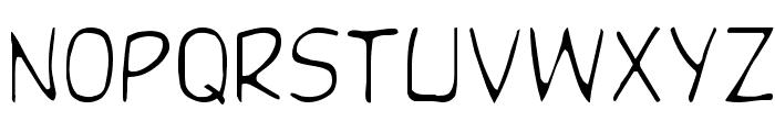 DupuyLight Regular Font LOWERCASE