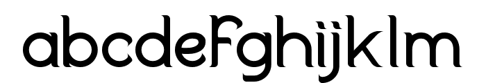 Duralith Font LOWERCASE