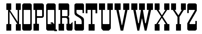 Durango Font UPPERCASE