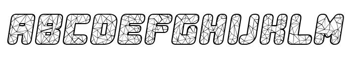 Duration Italic Font UPPERCASE