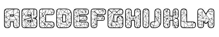 Duration Regular Font UPPERCASE