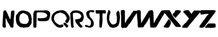 Durden-ExtraBold Font UPPERCASE