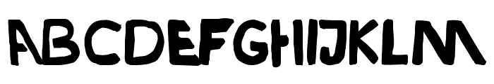 Durden-ExtraBold Font LOWERCASE