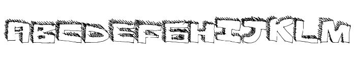 DurhShapes Font UPPERCASE