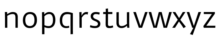 Duru Sans Regular Font LOWERCASE