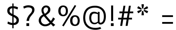 Duru Sans Font OTHER CHARS