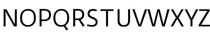 Duru Sans Font UPPERCASE