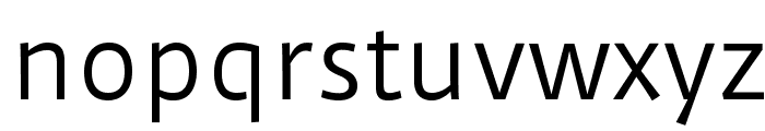 DuruSans-Regular Font LOWERCASE