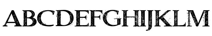 Dust Serif Font UPPERCASE