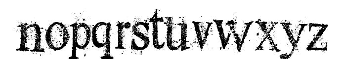 Dust Serif Font LOWERCASE