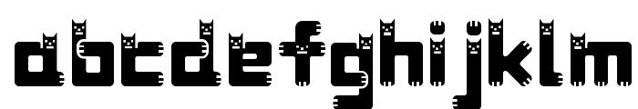 DustDemon Bold Font LOWERCASE