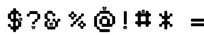 DustMonsters Medium Font OTHER CHARS