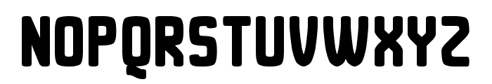 Duster AB Thick Font UPPERCASE