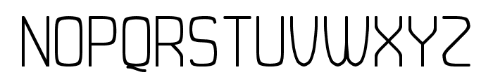 Duster AB Thin Font UPPERCASE