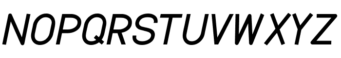 Dustismo  Bold Italic Font UPPERCASE