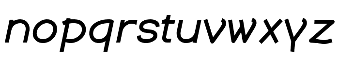 Dustismo  Bold Italic Font LOWERCASE