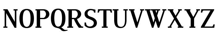 Dustismo Roman Bold Font UPPERCASE