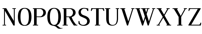 Dustismo Roman Font UPPERCASE