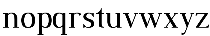 Dustismo Roman Font LOWERCASE