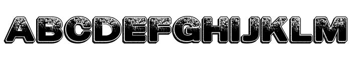 DustyHotels Font UPPERCASE