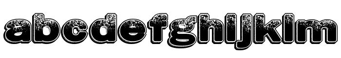 DustyHotels Font LOWERCASE