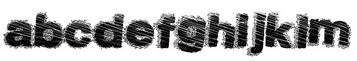 DustySalmon Font LOWERCASE