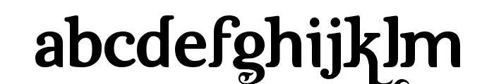 Dutch & Harley Font LOWERCASE
