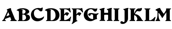 Duvall Font UPPERCASE