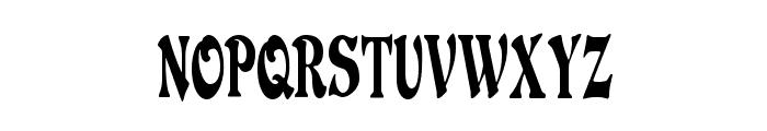 DuvallSmallCapsCondensed Font LOWERCASE