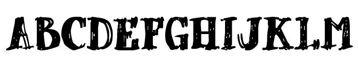 dUBBEL Font UPPERCASE
