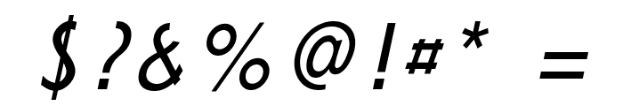 durselinvenice-Italic Font OTHER CHARS