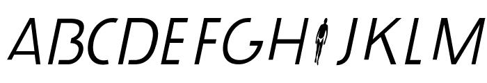 durselinvenice-Italic Font UPPERCASE