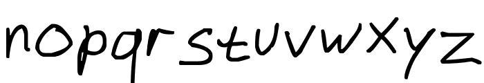 dustinhofont_beta Font LOWERCASE
