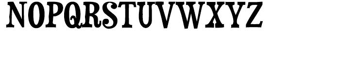 Duality Regular Font UPPERCASE