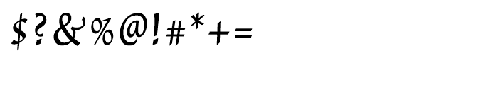 Dublin Regular Font OTHER CHARS