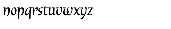 Dublin Regular Font LOWERCASE