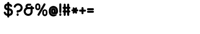 Duepuntozero Bold Font OTHER CHARS