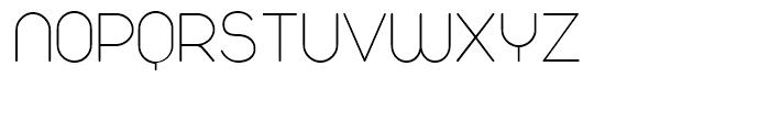 Duepuntozero Extra Light Font UPPERCASE