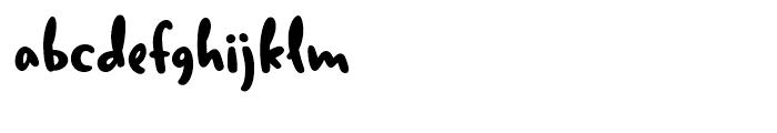 Duffy Bold Font LOWERCASE