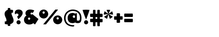 Dujour Regular Font OTHER CHARS