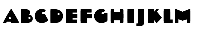 Dujour Regular Font UPPERCASE