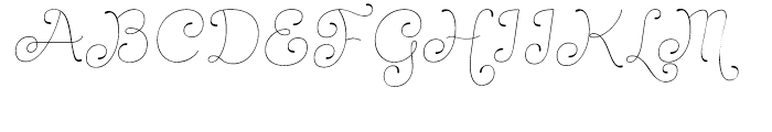 Dulce Pro Essential Italic Font UPPERCASE